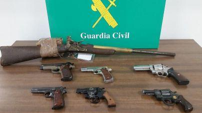 Detenido un comerciante de Palma por tener varias armas sin licencia