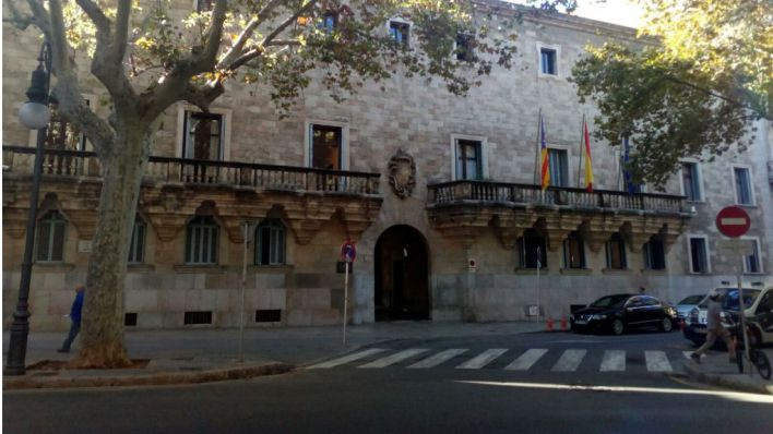 Anulan la manifestación no autorizada de 'Jóvenes en Defensa de España' en Palma