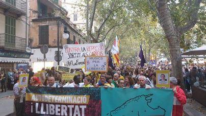 Manifestación en Palma contra la sentencia del