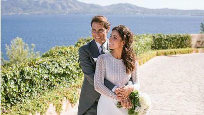 Primeras fotos de la boda de Rafa Nadal y María Francisca Perelló