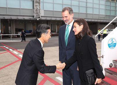 Los reyes de España asisten a la entronización del emperador del Japón