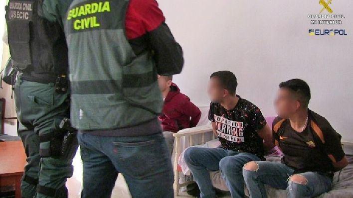 Cae un grupo criminal albanés especializado en robos violentos a viviendas habitadas