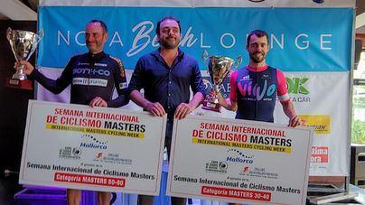 El mallorquín Javier Salmerón y Roy Holmes ganan la Semana Masters 2019
