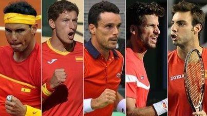 Rafa Nadal lidera el equipo para las Finales de la Copa Davis de tenis contra Rusia y Croacia