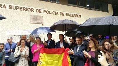 Respaldo policial en Palma a los compañeros de Barcelona: 'Los radicales buscan un muerto'