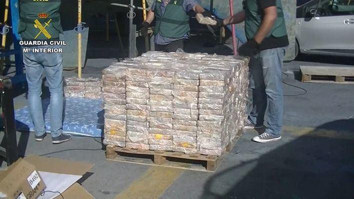 Seis toneladas de hachís, el mayor decomiso en Baleares, serán incineradas en Son Reus