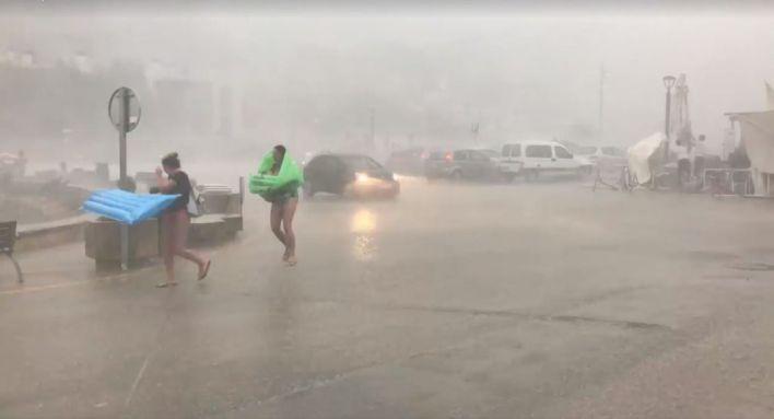 Baleares se prepara para una noche de lluvias torrenciales