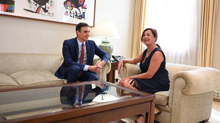 Armengol confirma que Baleares recibirá este año 101 millones del Estado