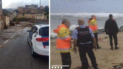 Un muerto y dos desaparecidos por el temporal en Cataluña