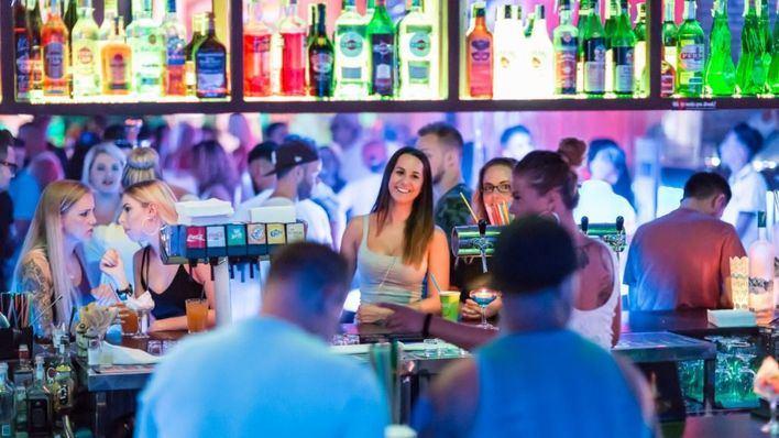 El 'Closing' de MegaPark dinamiza el fin de temporada en Playa de Palma