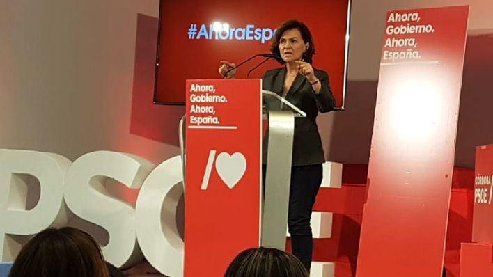 Calvo participa el domingo en un acto del PSOE en Calvià