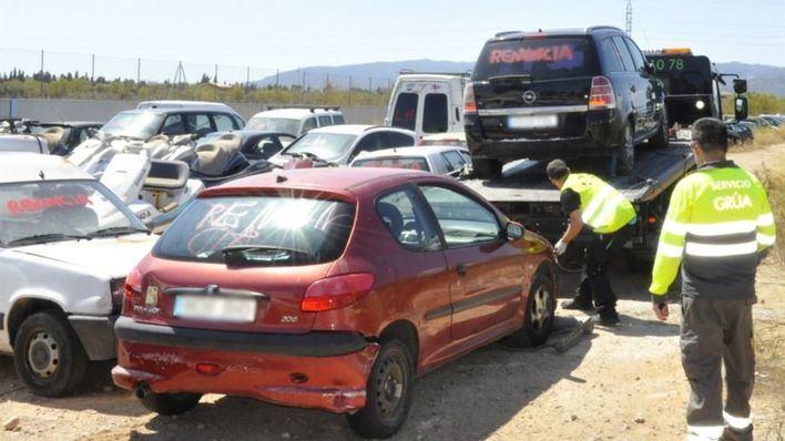 Cort adjudica la retirada y descontaminación de vehículos del depósito de Son Toells