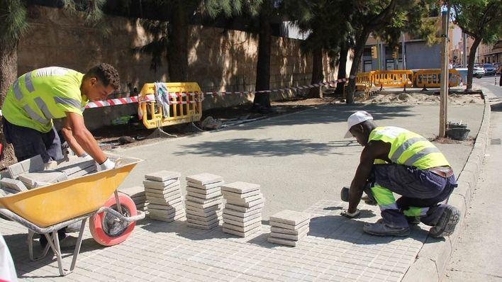 La mejora de las aceras de la calle Uruguay cuesta 10.537 euros