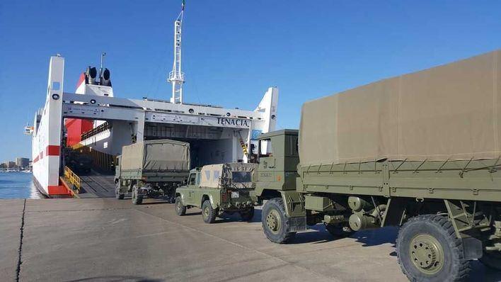 El Palma 47 pone rumbo a la península para unas maniobras militares