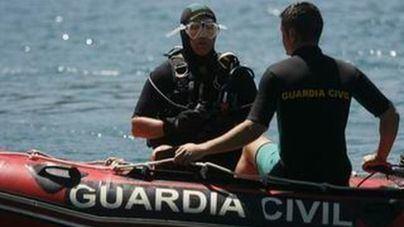 Sin resultados en la búsqueda de la pareja caída al mar en Cala Esmeralda