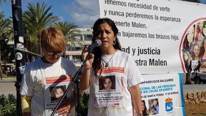 Concentración en recuerdo de Malén Ortiz