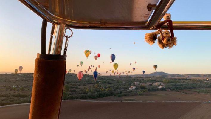 Los globos se despiden de los cielos de Mallorca