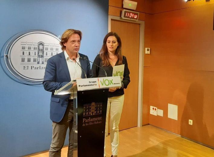 Vox pedirá la derogación de la ley de memoria de Baleares por 'promover la división entre españoles'