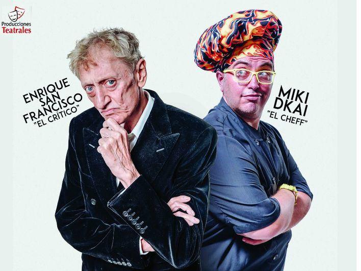 Enrique San Francisco y Miki D'Kai presentan 'Pesadilla en la comedia' en el Trui Teatre