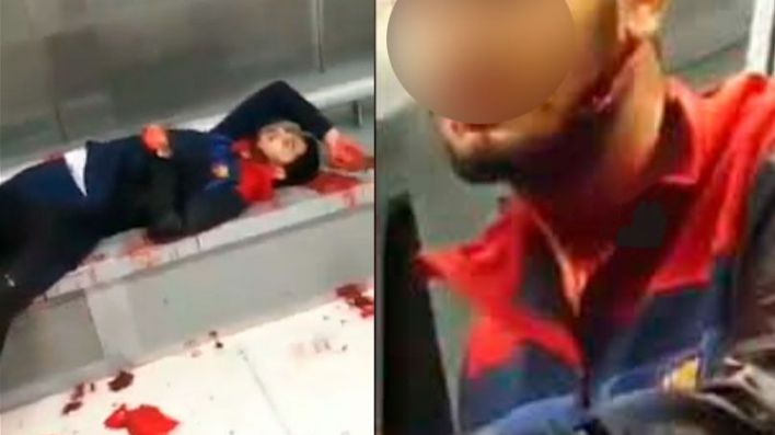 Un muerto y dos heridos graves en una pelea tumultuaria y a machetazos en Badalona