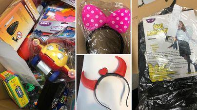 Consum retira más de 4.000 artículos de Halloween por no cumplir la normativa
