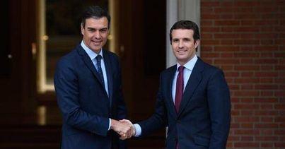 Pedro Sanchez y Pablo Casado coinciden este miércoles en Palma en actos electorales de la campaña del 10N
