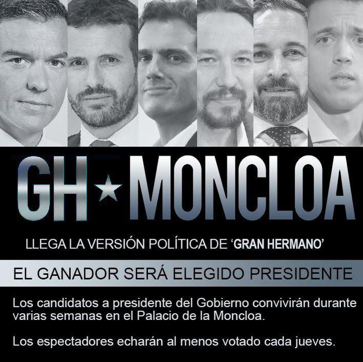 Llega el 'Gran Hermano Moncloa' para elegir presidente del Gobierno