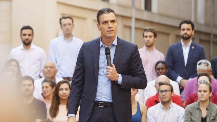 Sánchez anuncia en Palma que las ayudas de 18 millones por la riada del Llevant se aprueban el jueves