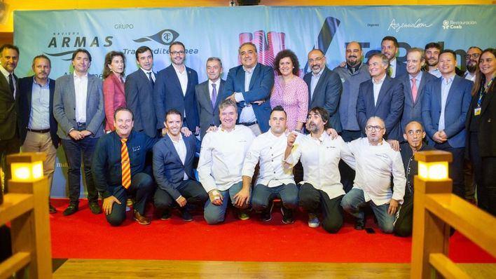 Tapalma 2019 celebra su fiesta de presentación a bordo de un buque con 200 personas