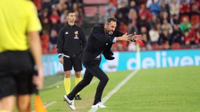 Moreno, tras rascar un punto ante el Osasuna: 'La sensación es mala, queríamos ganar'