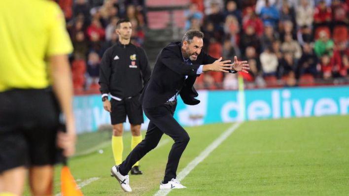 Moreno, tras rascar un punto ante el Osasuna: