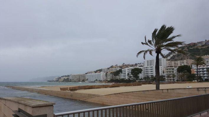 'Amelie' deja fuertes vientos y olas de hasta 3 metros en Baleares