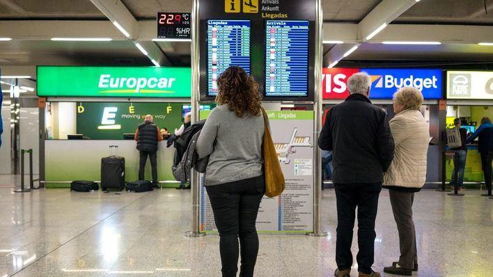 La llegada de turistas internacionales a Baleares cae un 1,2 por ciento