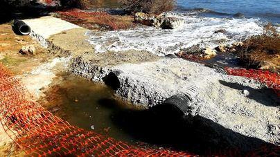 Salvem Portocolom denuncia un paseo con 'excesivo hormigón' a la orilla del mar y sobre el pinar