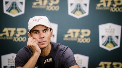 Nadal intentará disputar las Finales ATP pese a sufrir una distensión en el recto abdominal