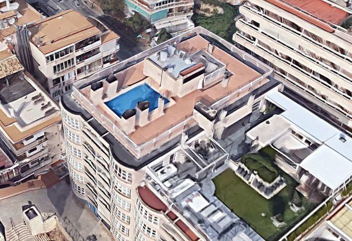 Cort prohíbe las piscinas en las azoteas de edificios del centro histórico y es Jonquet