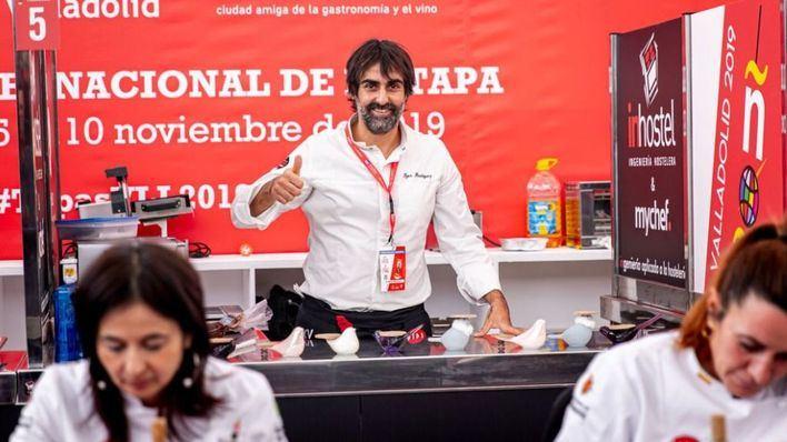Igor Rodríguez espera revalidar el título de Campeón de Pinchos y Tapas de España