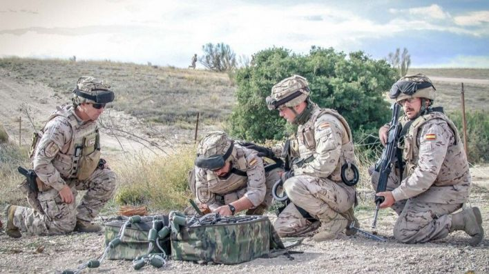 La Fuerza de Infantería de Marina se adiestra en aguas de Baleares