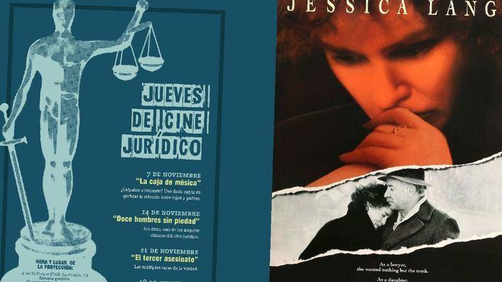 'La caja de música' en el ciclo de cine jurídico del Colegio de abogados
