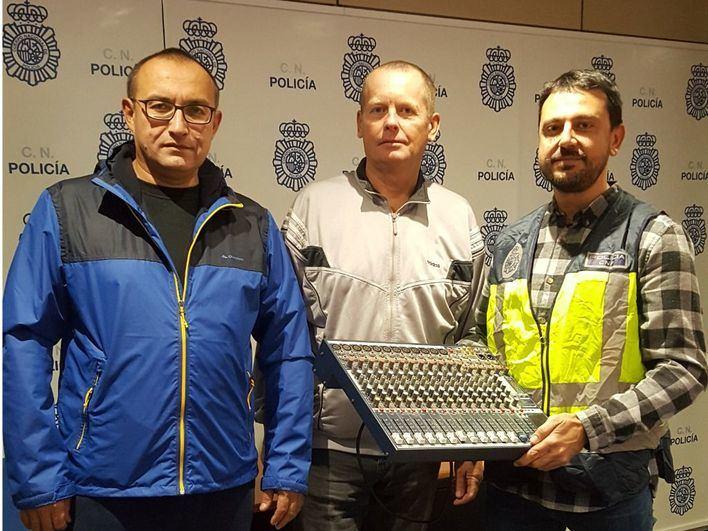 Detenido el ladrón de equipos electrónicos del Circo Raluy en Palma