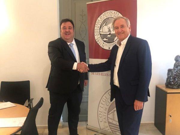 El Colegio de Abogados y Tasalia firman un convenio de colaboración