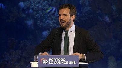 Casado dice que el PP no facilitará una investidura a Sánchez