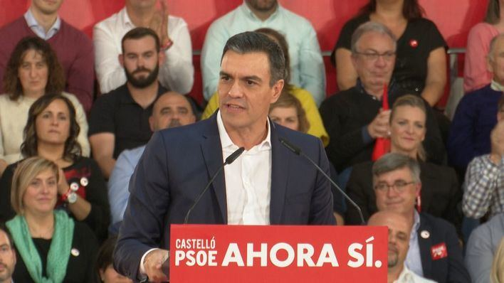 Sánchez se compromete a 'acabar' con la Fundación Francisco Franco