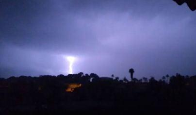 La tormenta eléctrica ha dejado 2.000 rayos en Baleares, la mayoría en el mar