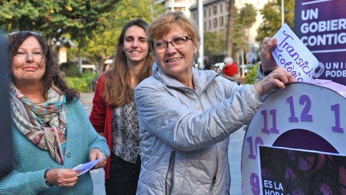 Podem pide 'salir a votar' el domingo para 'frenar a los que quieren volver al pasado'
