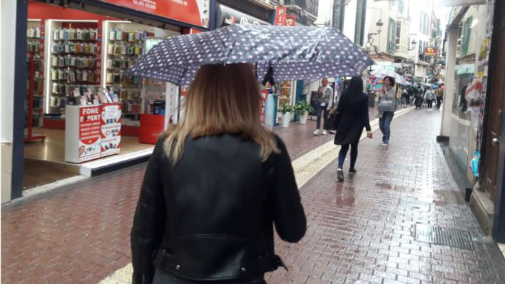 Alerta en Baleares por lluvia y fuertes vientos