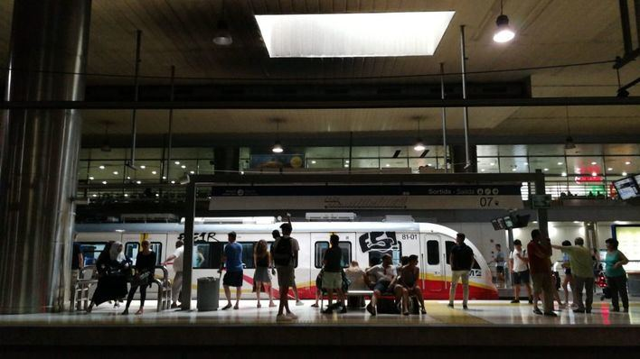 El metro de Palma vuelve a circular