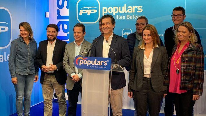 El PP pasa de la cuarta a la segunda posición en Palma