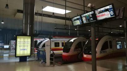 El metro de Palma aumenta un 46,4 por ciento sus usuarios en septiembre