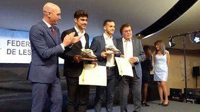 El fútbol balear premia a Marco Asensio, Joan Sastre y Abdón Prats